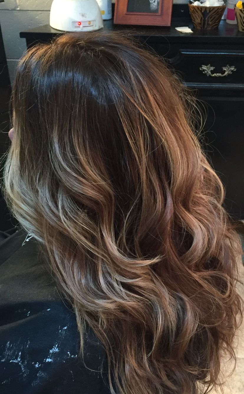 Level 5 Natural Base Balayage Hi Lites Beauty In 2018 Pinterest
