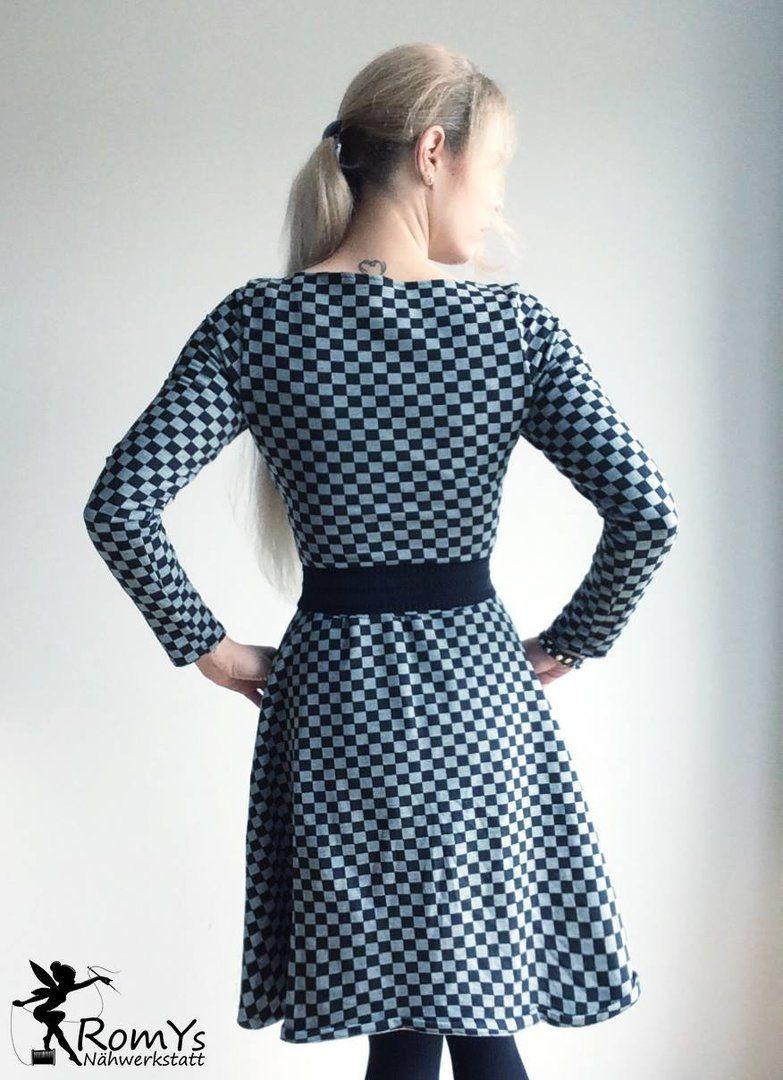 Ebook Damen Basic Winterkleid - Schnittmuster und Anleitung als