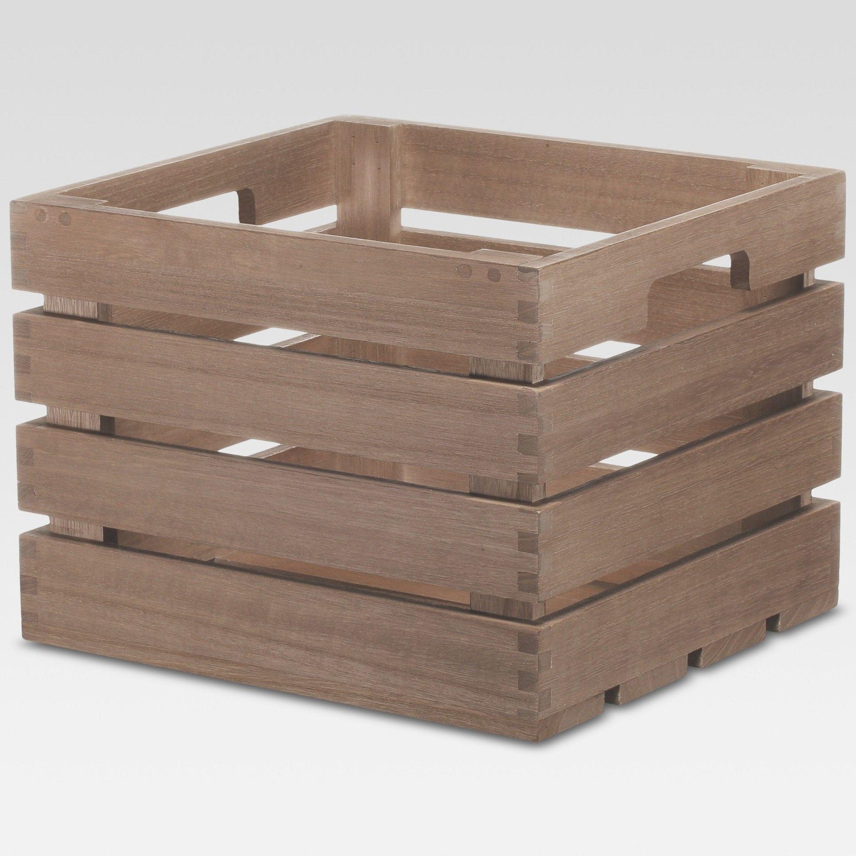 Cube Storage Basket Brown 10 X11 X8 Threshold Cube Storage Baskets Basket And Crate Storage Baskets