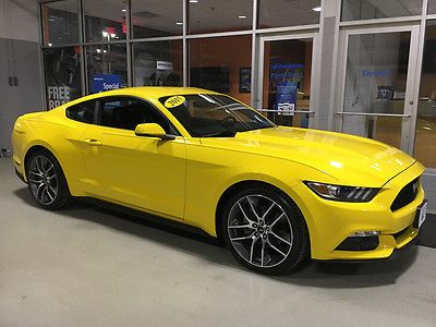 eBay 2015 Ford Mustang 2015 MUSTANG PREMIUM ECOBOOST NAVIGATION