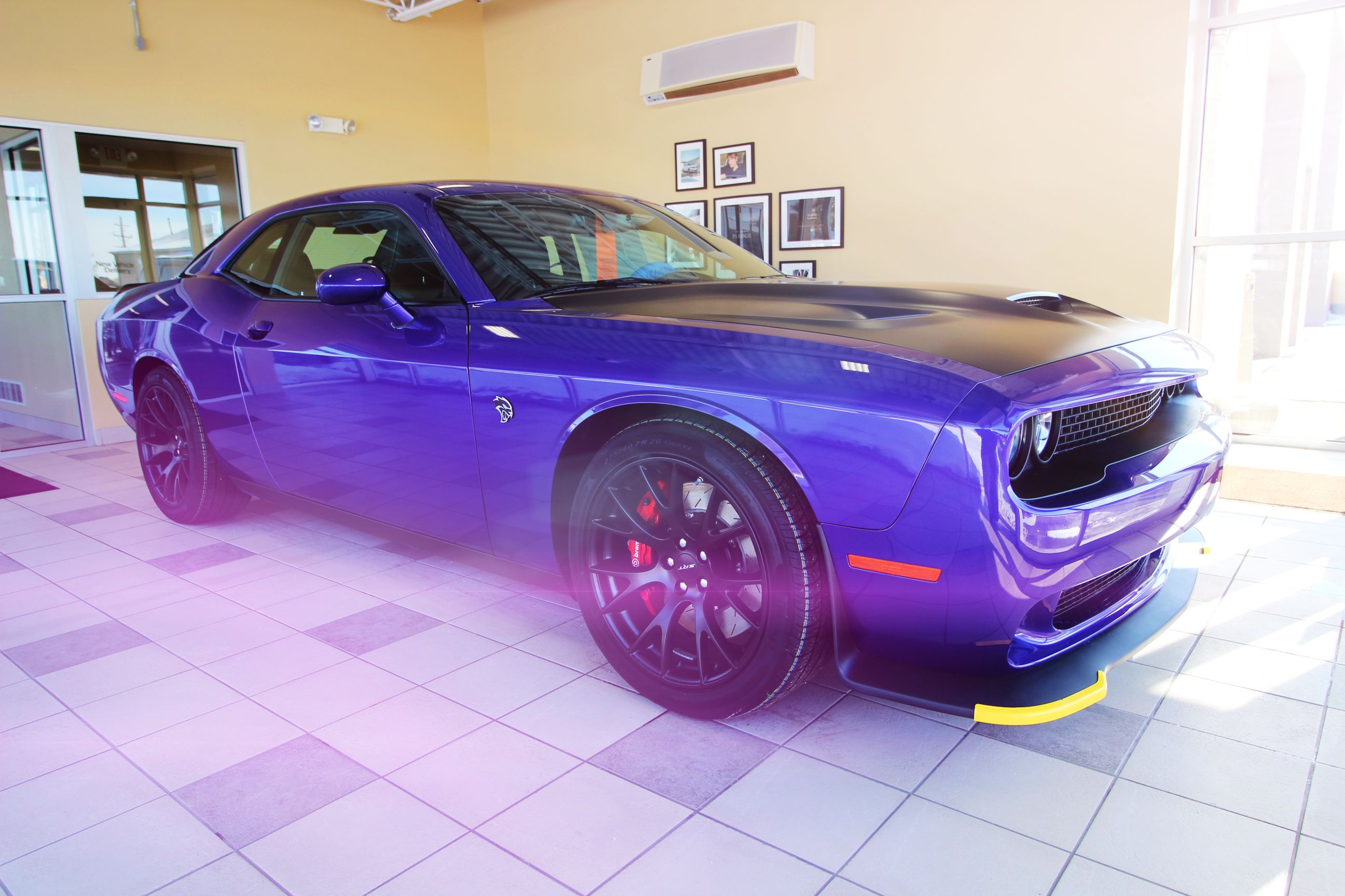 Epic lighting for an Epic Dodge Challenger Hellcat