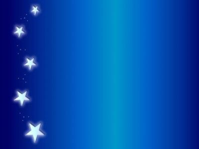 Sidebar Angel Blue Stars Ppt Backgrounds Beautiful Adorable