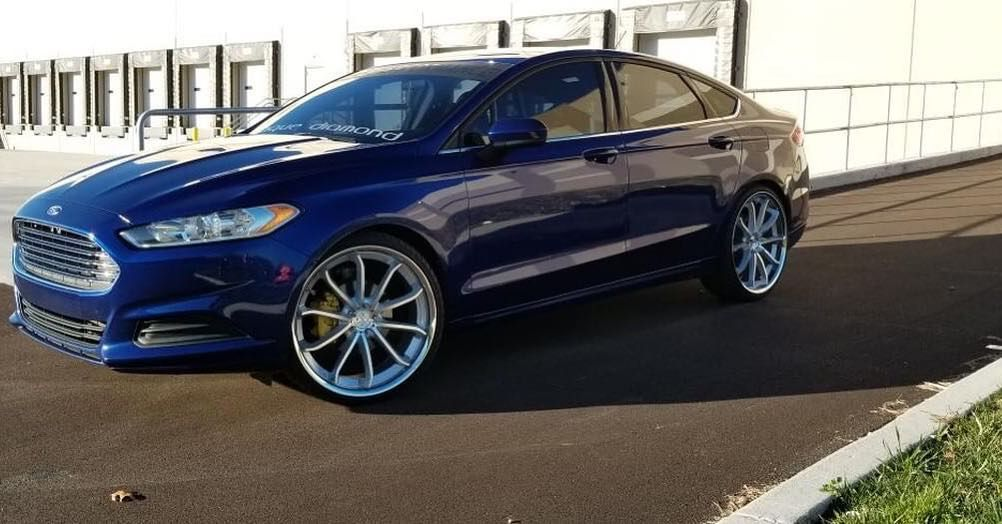 Loving The Blue On This Ford Fusion Regram Via Ford Confusion Life Ford Fusion New Ford F150 Ford