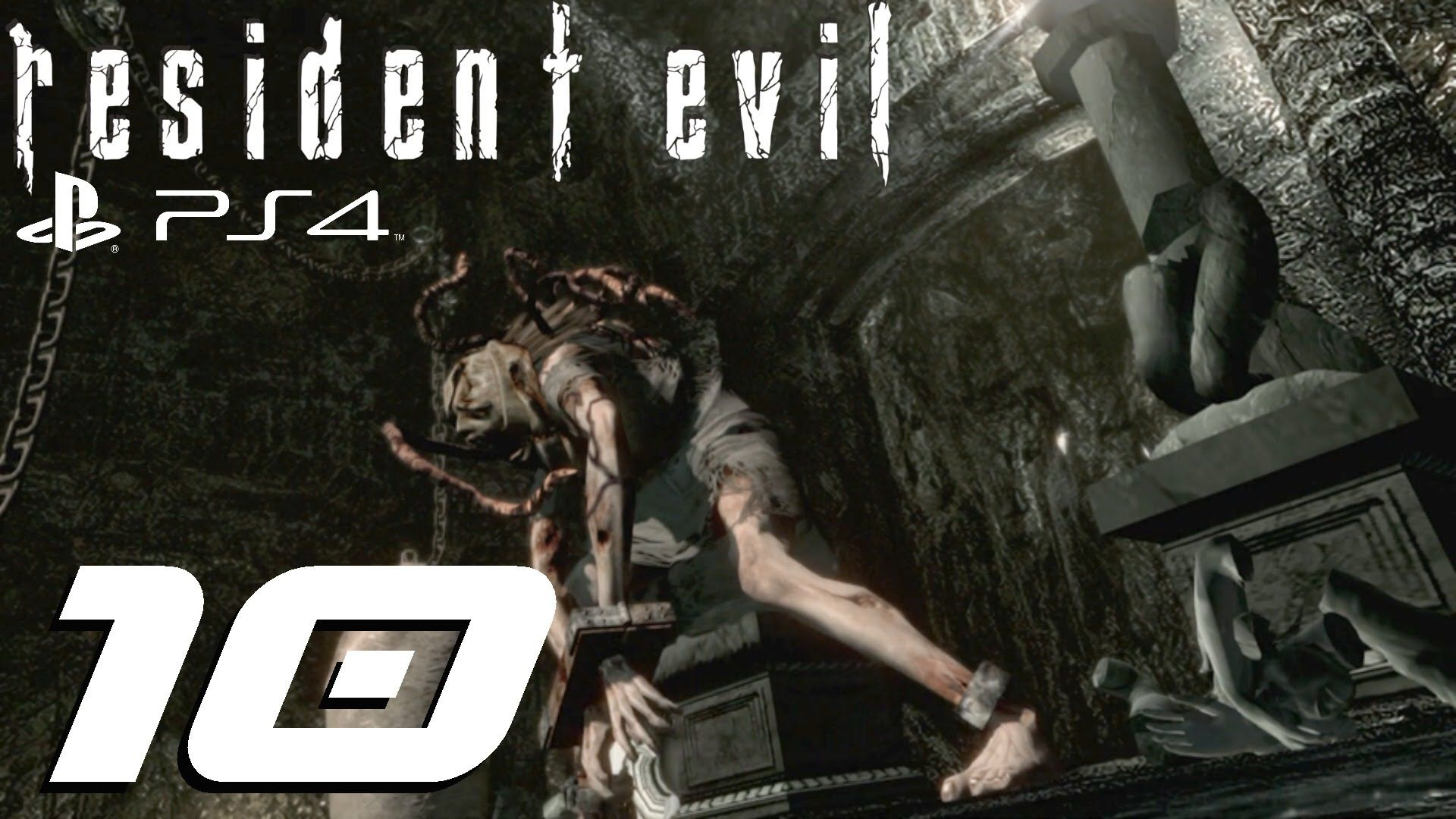 Resident Evil HD Remaster (PS4) - Jill Walkthrough Part 10