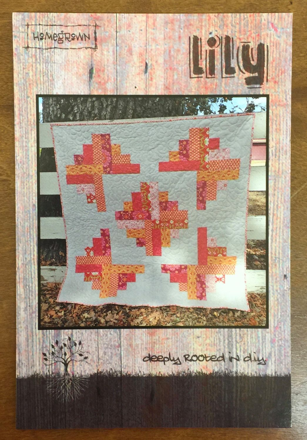 Lily Quilt Pattern by QuiltingByRita on Etsy