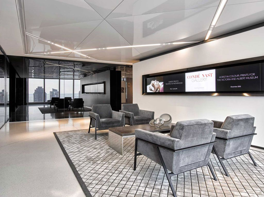 Stretch Ceiling Systems @ Condé Nast, New York, NY Office