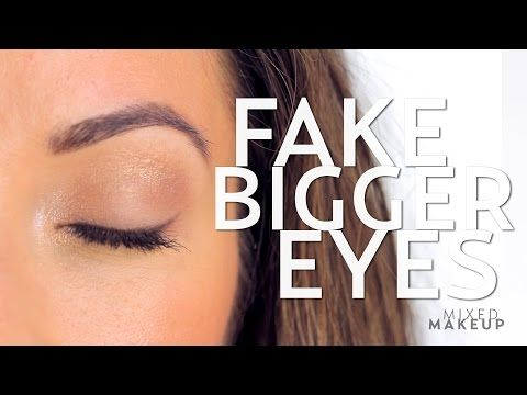 e1a3839326f74 Fake the Look of Bigger Eyes with Makeup - YouTube