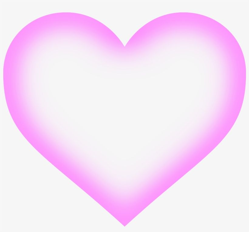 Corazon Corazon Rosa Fondo Transparente Transparent Png Download Colorful Art Png Neon Glow