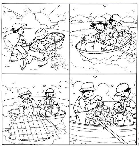 Secuencias Temporales Para Recortar Y Colorear Writing Pictures Picture Prompts Sequencing Activities Kindergarten