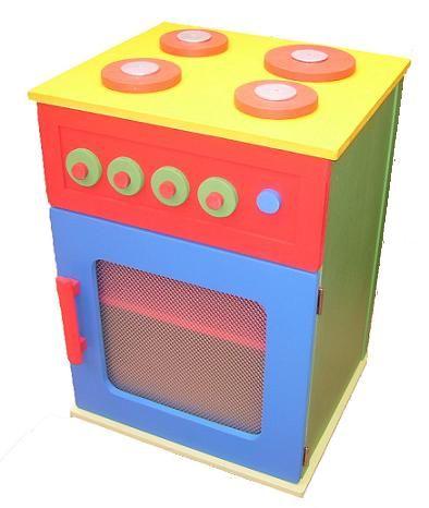 Claf Original Cocina En Madera Colores Para Ninos Cod 206