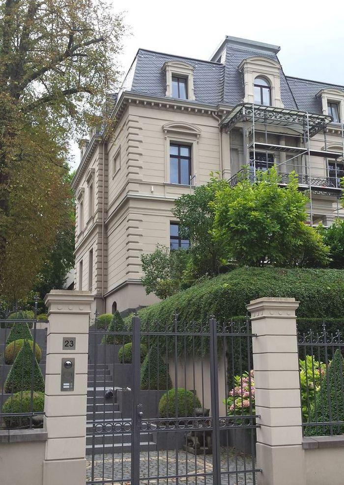 Wiesbaden, das Auge wohnt mit. Herrliche Jugendstil