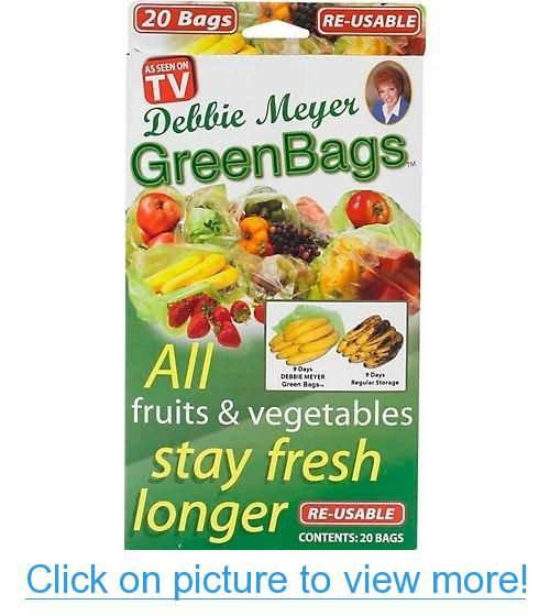 Debbie Meyer Green Bags 20 Pack Fruits And Veggies All Fruits