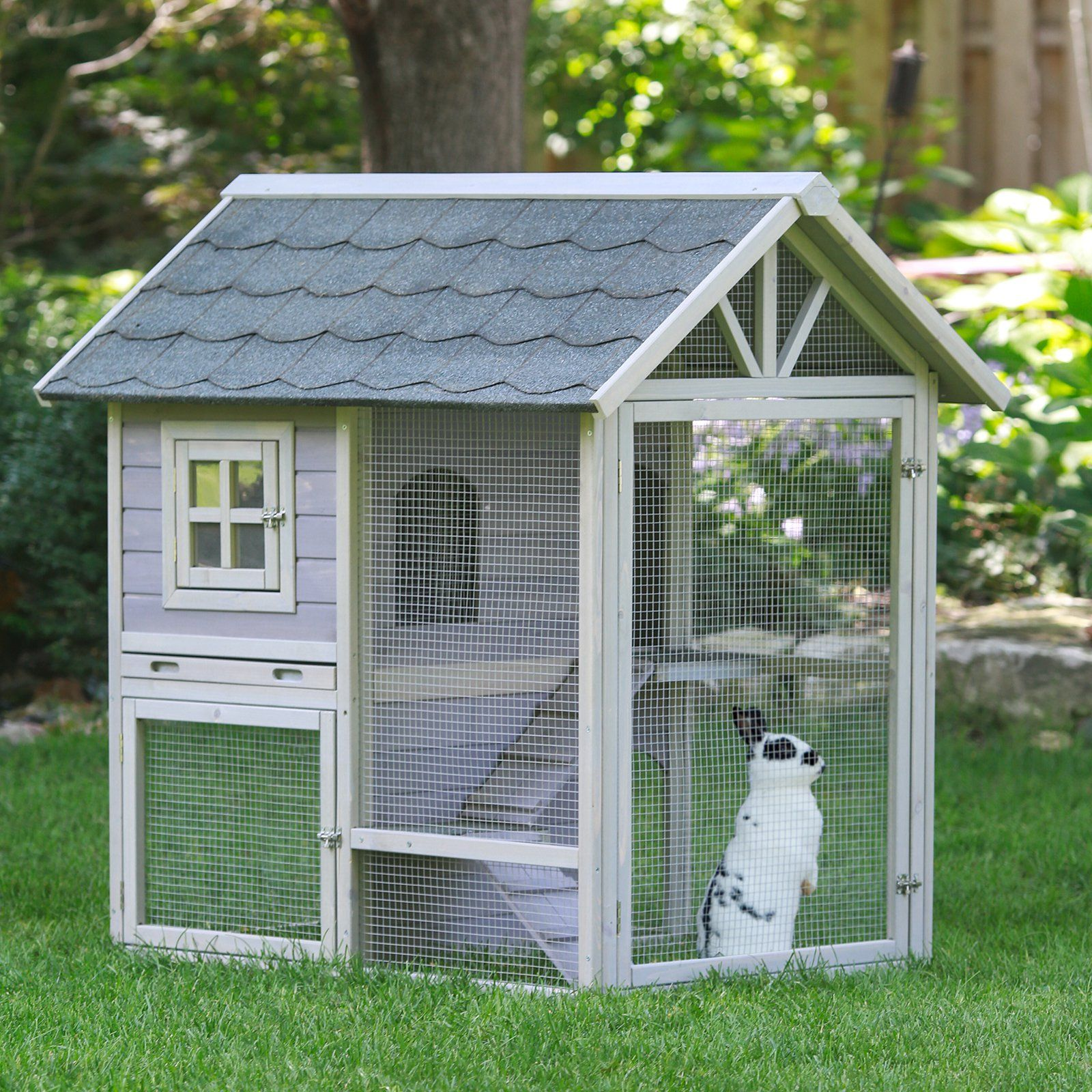 stilt rabbit amazon hutch sale handmade garden house the for dp advantek hutches patio ca lawn