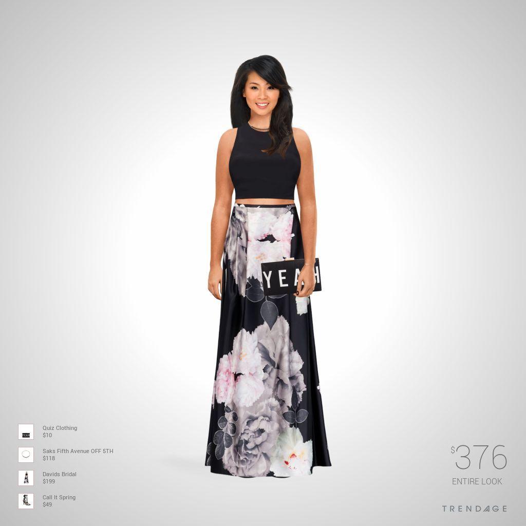 equipo de la manera hecha por Rxna el uso de ropa de Saks Fifth Avenue OFF 5TH, Davids Bridal, Call It Spring, Quiz Clothing. Estilo hecho en Trendage.