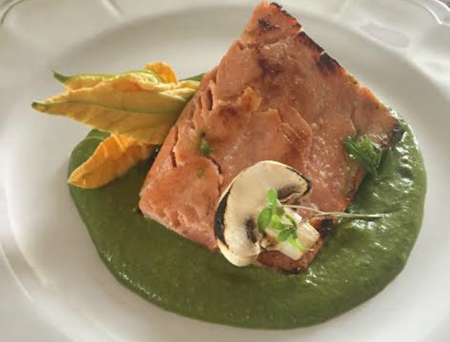 #TradiciónMichoacán Mole verde Mazahua-Otomí