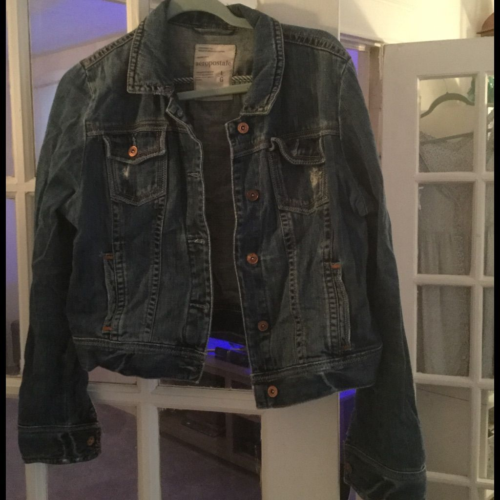 Aero jean jacket products