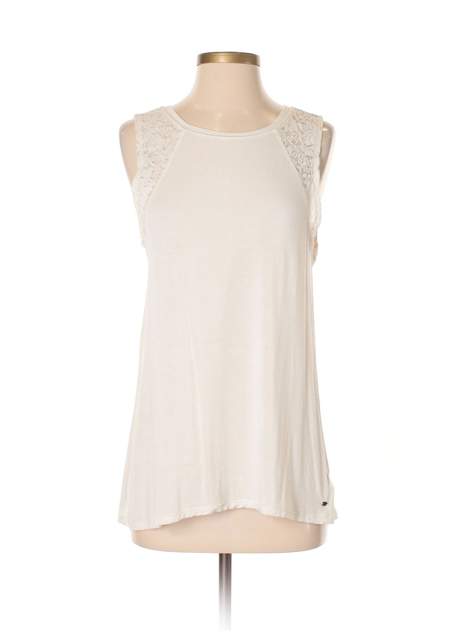 American Eagle Outfitters Sleeveless Top Size 4 00 Beige Women s