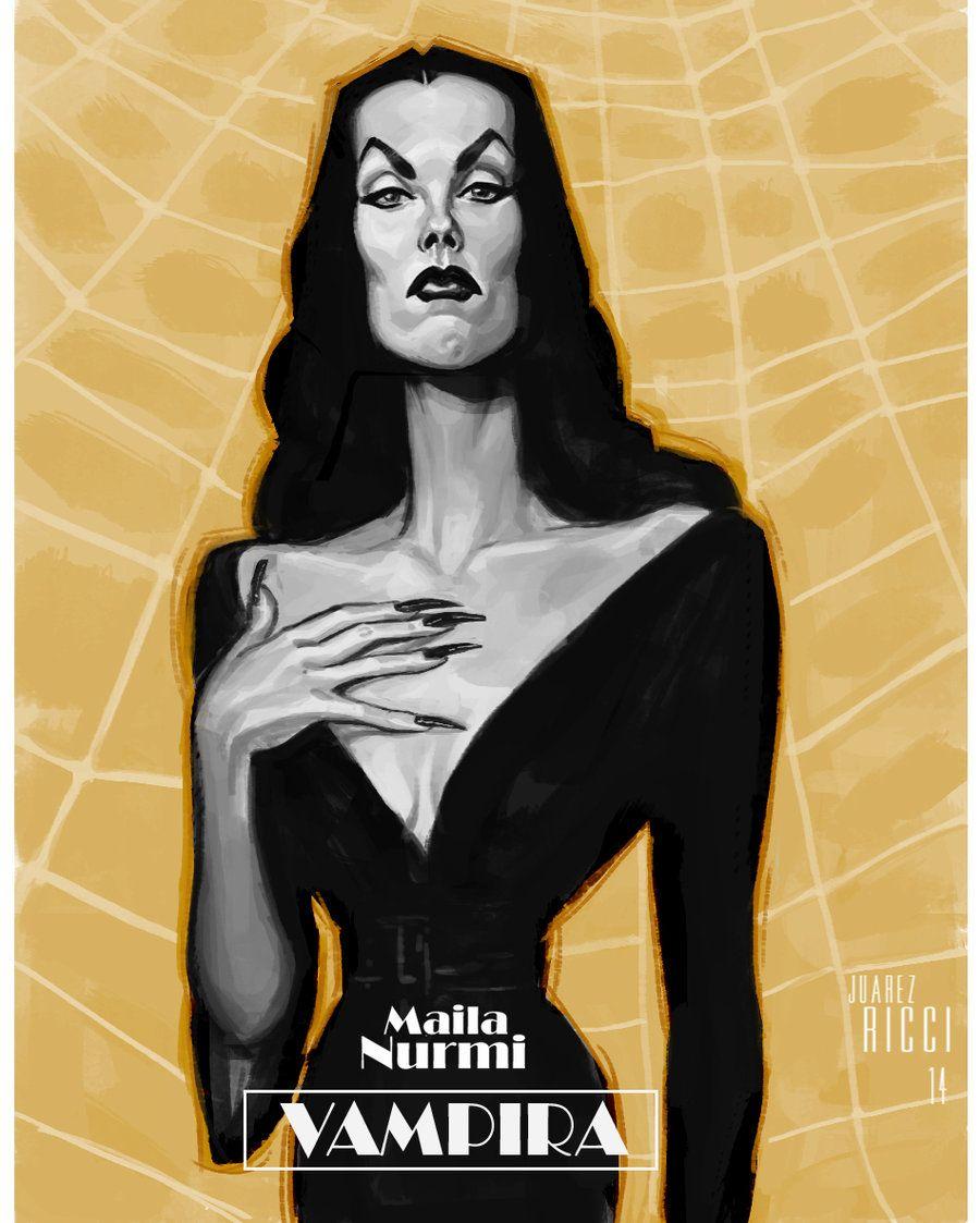 maila nurmi - vampira by juarezricci.deviantart on @deviantart