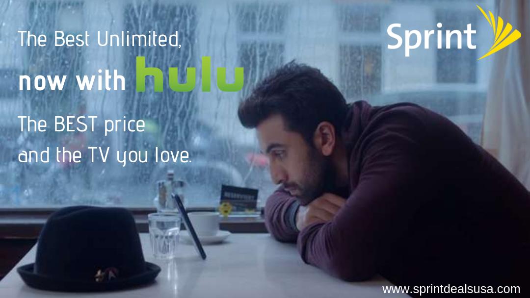 sprint free hulu