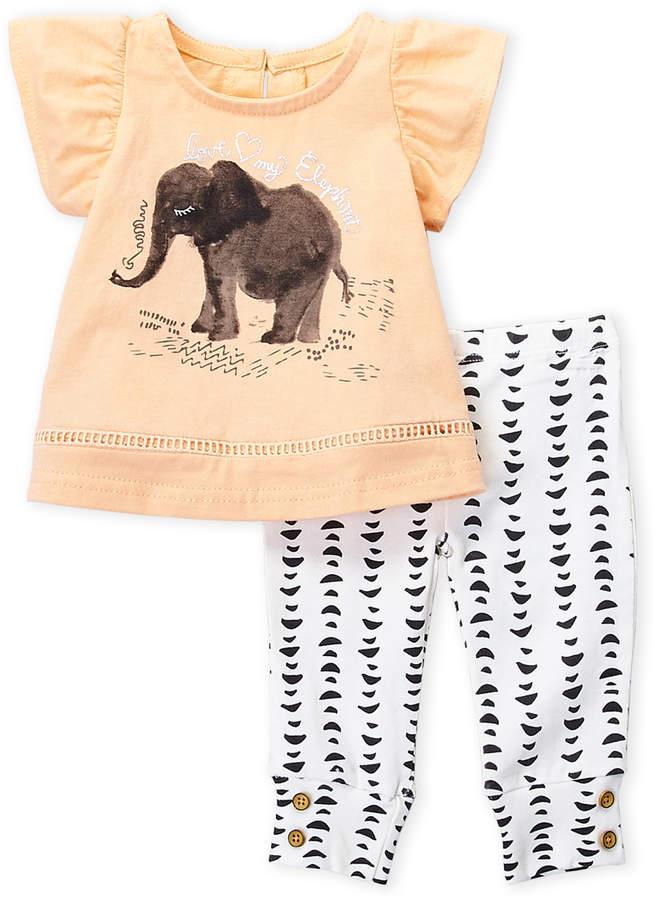 Jessica Simpson Baby Girls Pants Set