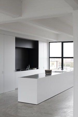 Minimal Kitchen, Minimal design, kitchen design, kitchen design ...