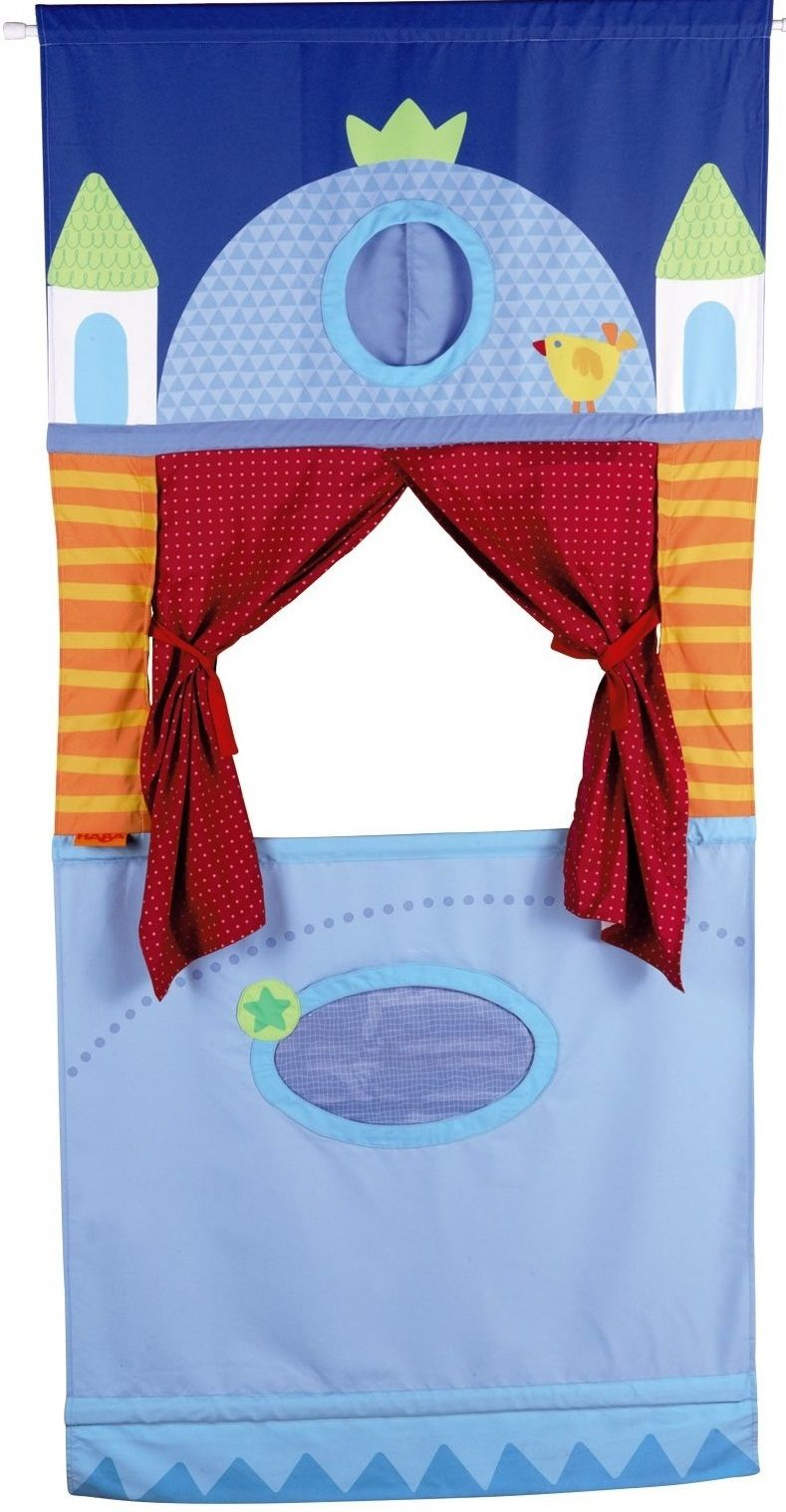 Doorway Puppet Theater This whimsical set can adjust to fit in