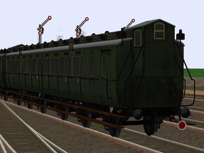 DRG Personenwagen 3. Klasse, Gattung - C3Pw pr06 - Set 1
