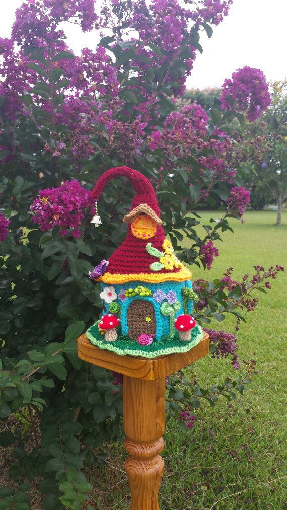 Items Similar To A Fairy / Gnome Fantasy House Garden Decor On Etsy