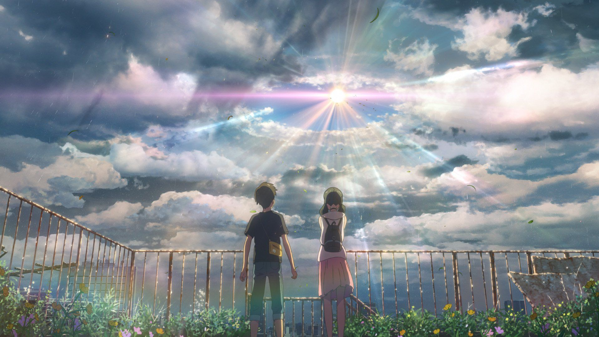 Makoto Shinkai S Your Name Newest Film Weathering With You Has Brand New Visuals Anime Scenery Makoto Shinkai Movies Anime Wallpaper