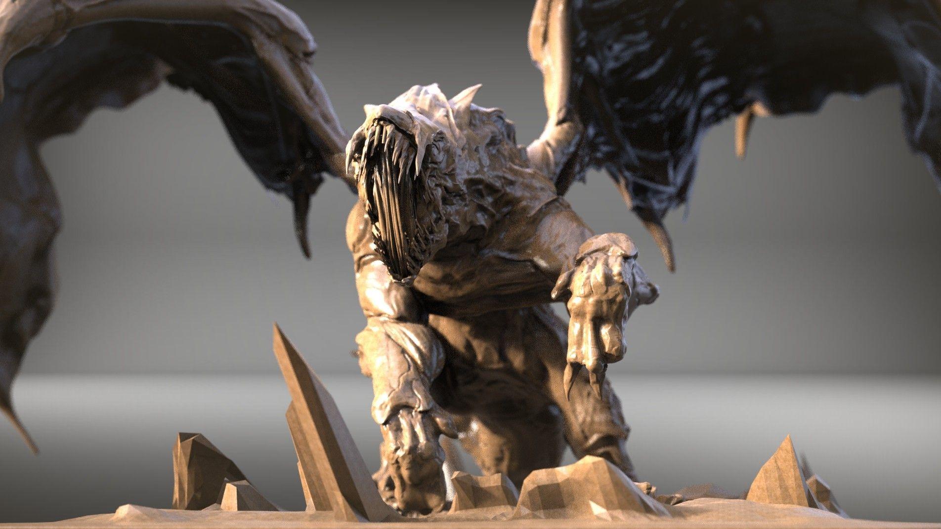 ArtStation - Creature type Dragon, keita okada