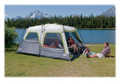 Coleman Signature Outdoor Gear Instant Tent 10 Ten-Person Tent with Rainfly & Coleman Signature Outdoor Gear Instant Tent 10 Ten-Person Tent ...