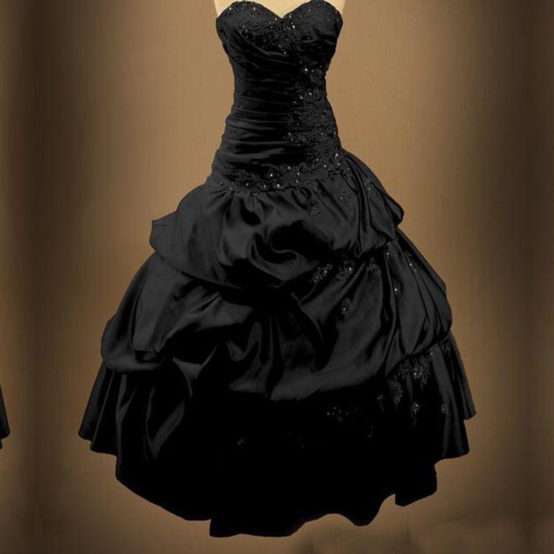 Vestidos de fiesta estilo gotico