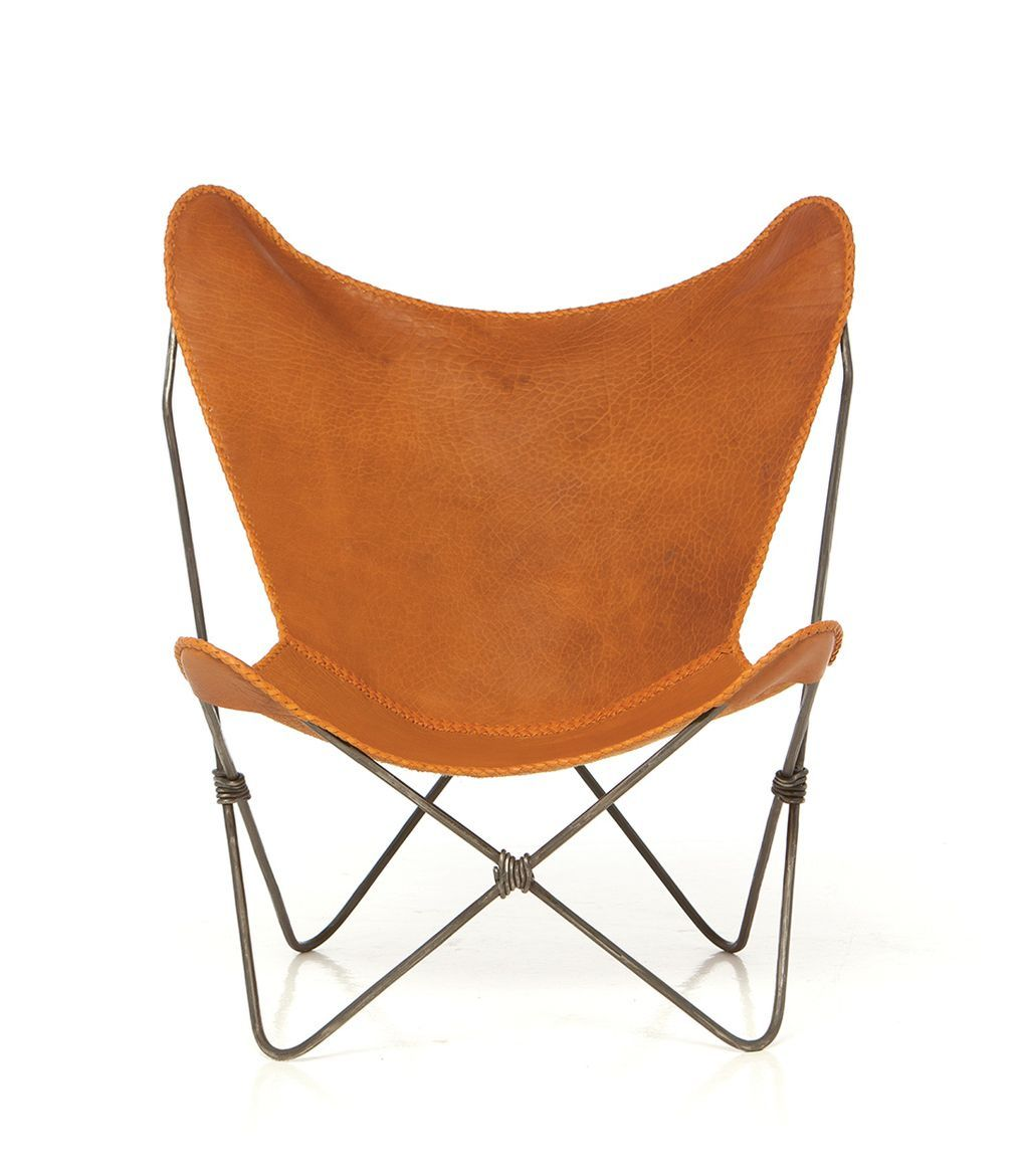 sling back chair world market dining room chairs via bklyn contessa from scenic mesa buffalo leather 2112 50 design