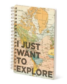 image of Explore Spiral Notebook