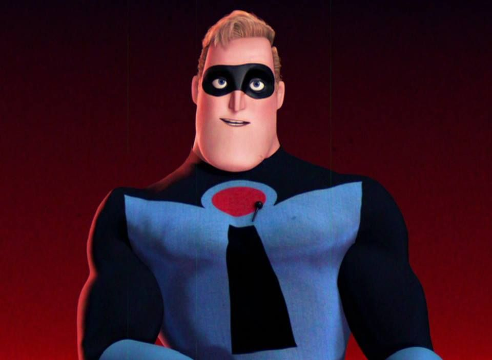 Glory days mr incredible the incredibles the