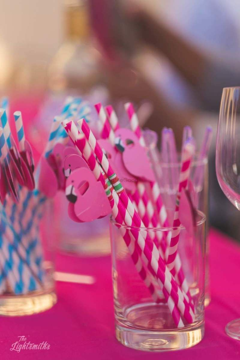 Cute pink flamingo mehendi favors #wedmegood #indianwedding #favors ...