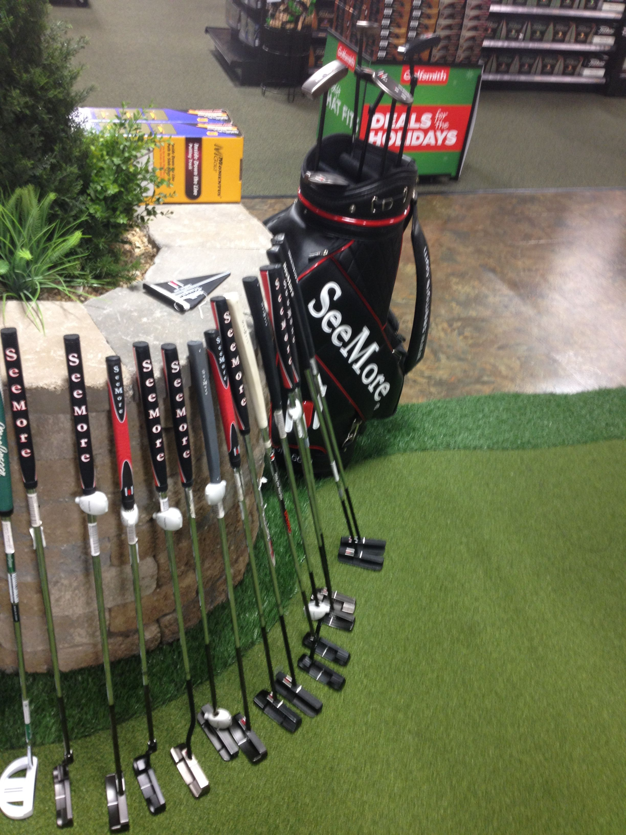 Golfsmith Brentwood Tn Great Seemorespi Putter Display Golf