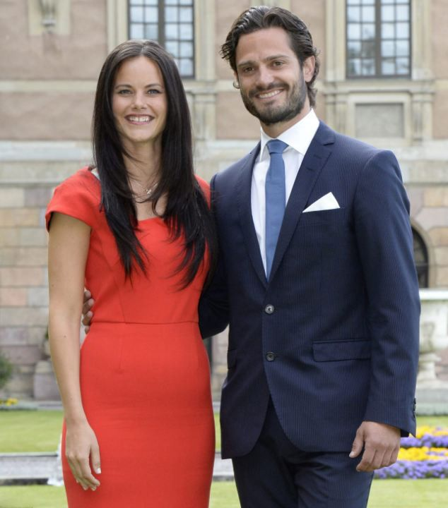 Officially engaged... Prince Carl Philip of Sweden proposed to Sofia Hellqvist this morning 27.06.2014 after a controversial four-year relationship