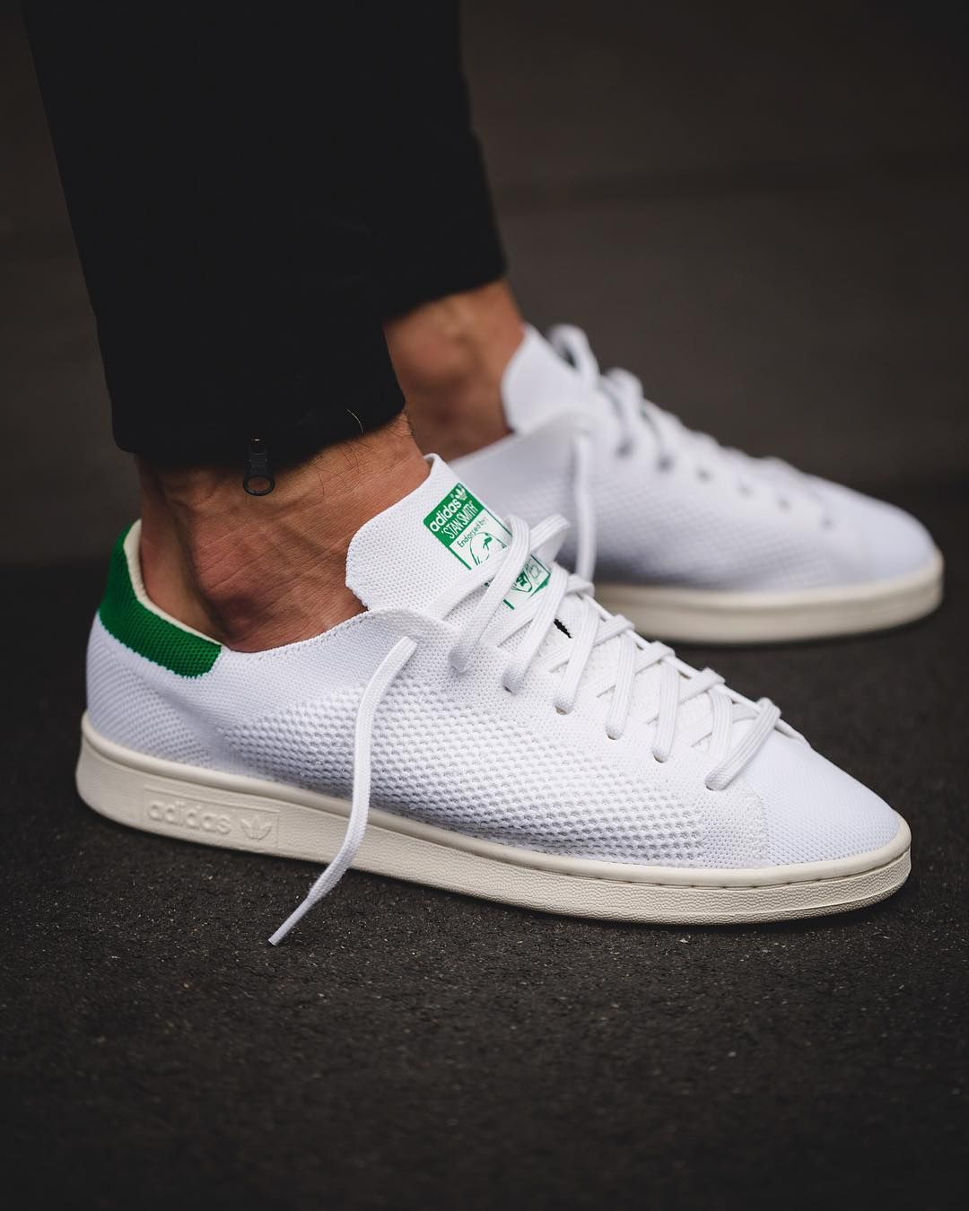 adidas stan smith primeknit green follow filetlondon. Black Bedroom Furniture Sets. Home Design Ideas