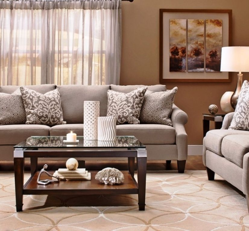 Raymour Flanigan Living Room Furniture Brown Living Room Decor Brown And Blue Living Room Brown Living Room
