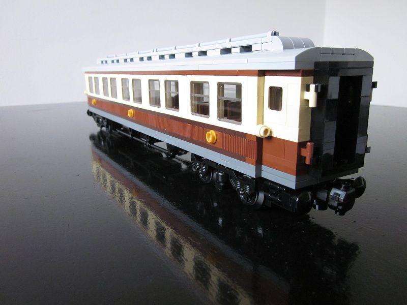 MOD: Emerald Night Passenger Car - LEGO Train Tech - Eurobricks Forums