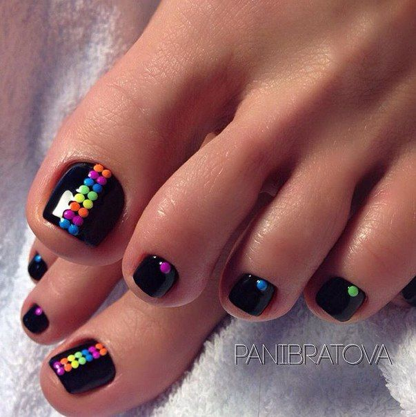 Cute Fall And Winter Toe Nail Art Design Idea Ideas De Unas Toe