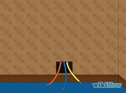 How To Fish Wires Through Walls Insulating A Shed Shed Diy Electrical