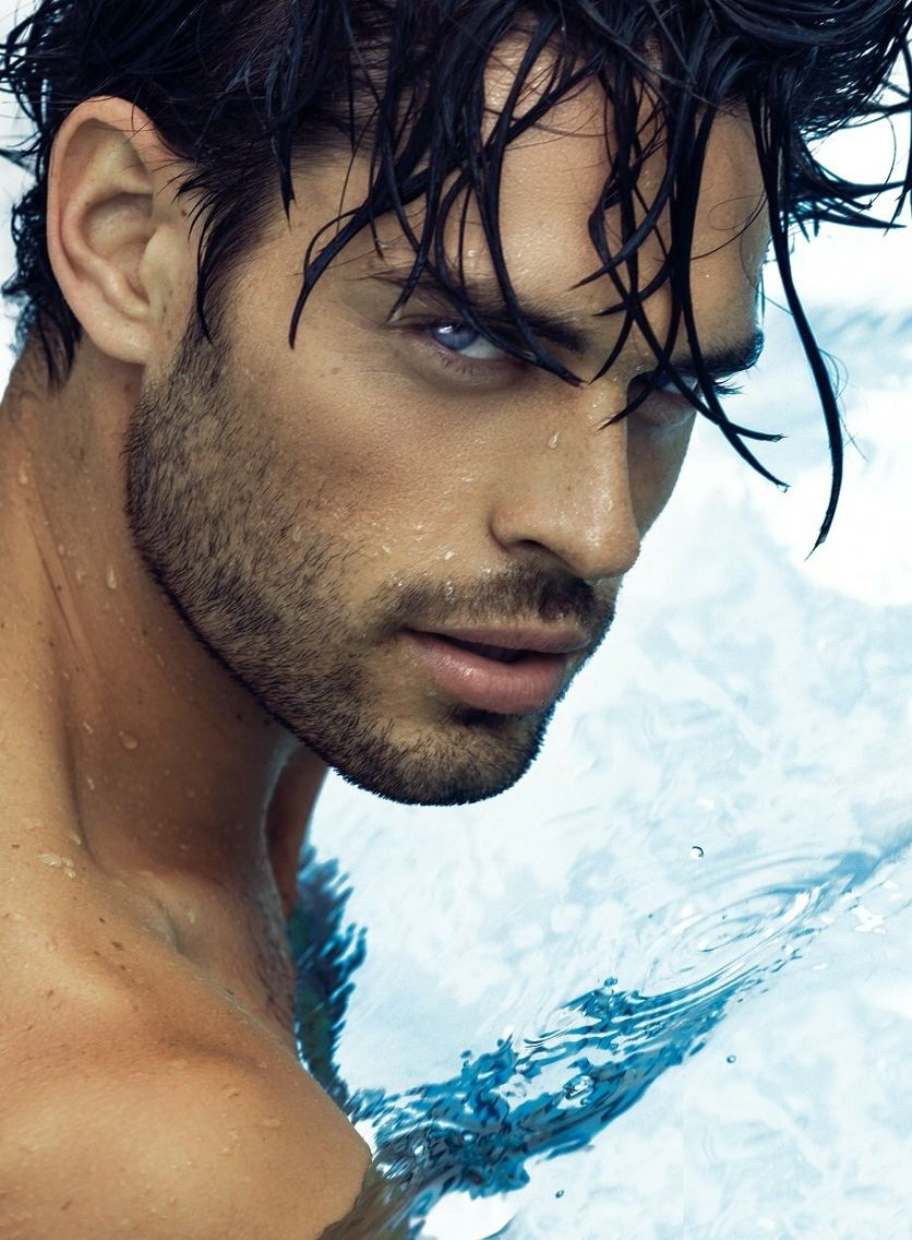 Lucas Facchini Where S The Pool Boy Black Hair Blue Eyes Beautiful Men Faces Guys With Black Hair