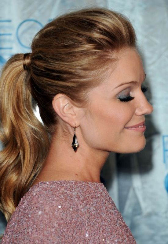 Sophisticated Ponytail Cute Ponytail Hairstyles Fancy Ponytail Hair Styles