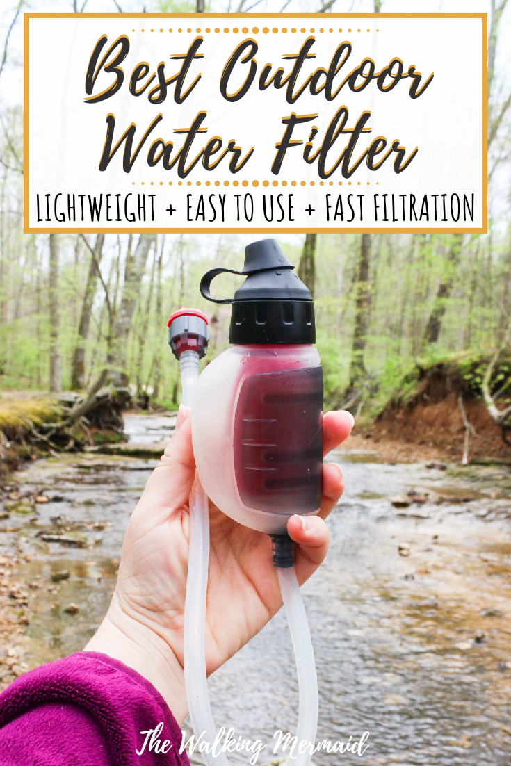 Photo of Best Water Filter For The Outdoors – MSR Gear TrailShot Pocket-Sized Water Filter