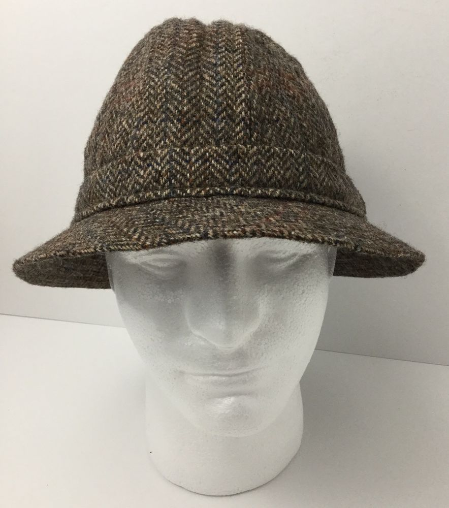 3fbbb36a83a34 Vintage Christy s London Mens Wool Bucket Hat Brown Multi Color Size 7 1 8  58  ChristysLondon  BucketHat