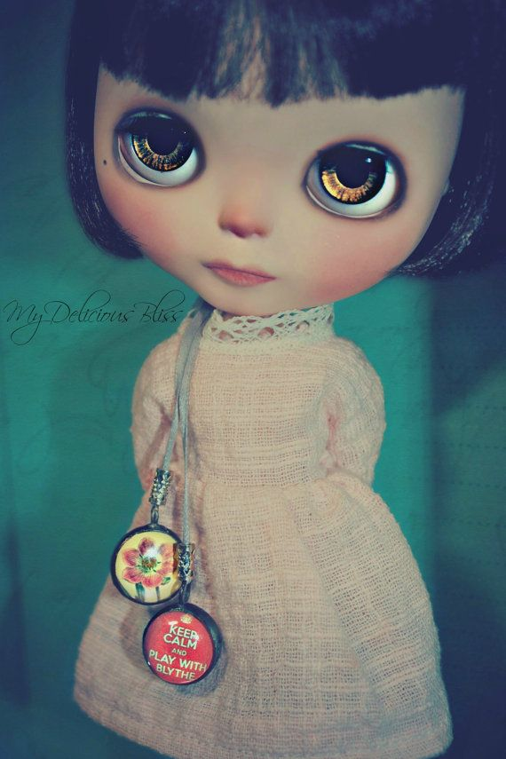 Charlotte  OOAK Custom Simply Chocolate Blythe by MyDeliciousBliss, $675.00