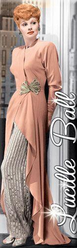 Lucille Ball Clothing  Love Lucy Lucille Ball Peach Dress Magnet 60067LLU