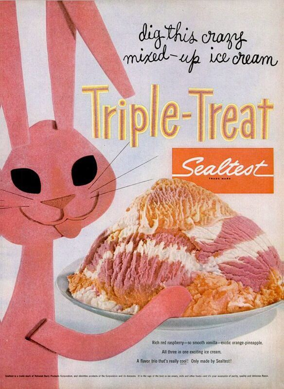 sealtest triple treat ice cream 1955 vintage ads and more description from pinterest com i searched for this on bing com images